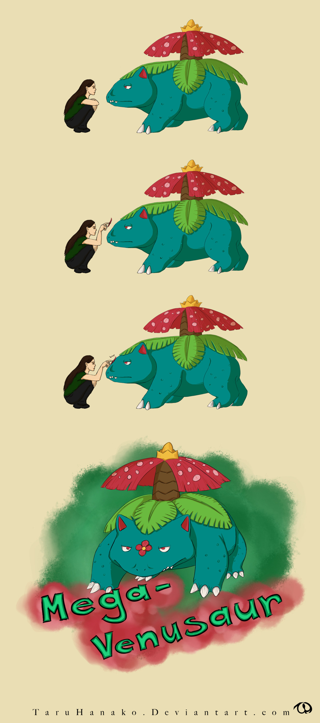 Venusaur evolves into...