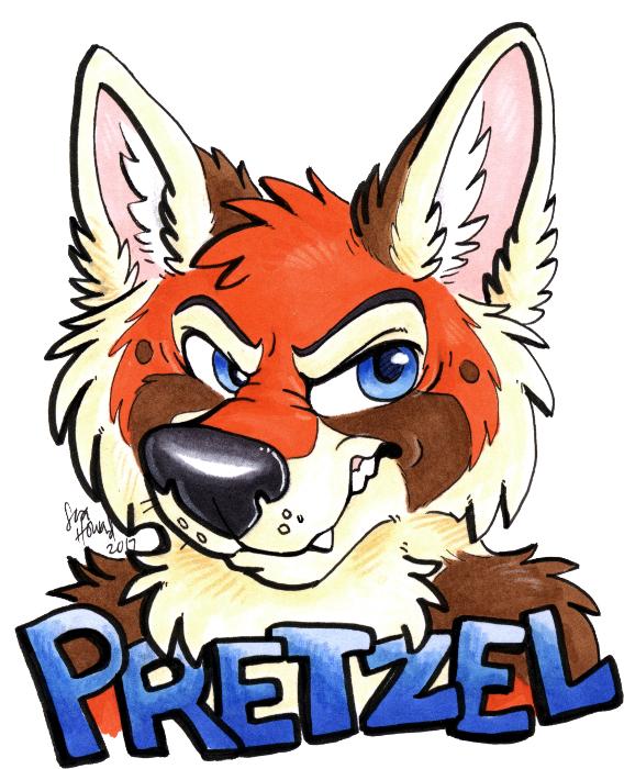 Pretzel Badge