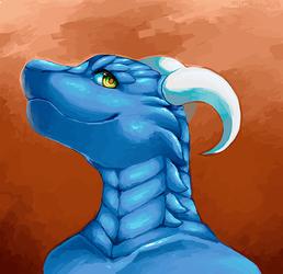 Dracostar New Avatar, Art By Miri