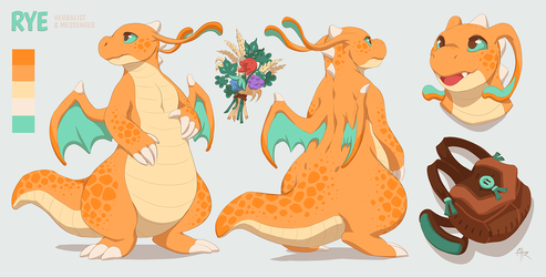 .Rye the Dragonite.