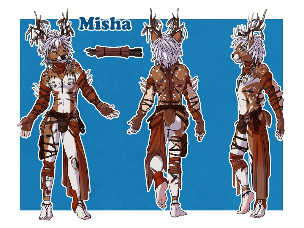 Misha reference sheet