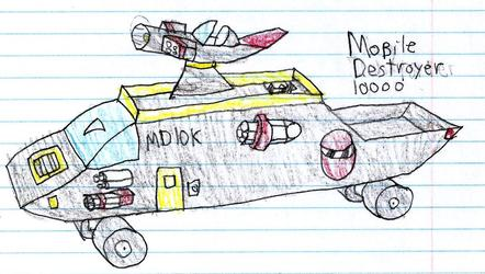Mobile Destroyer 10000