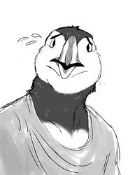 I showed you my beak??
