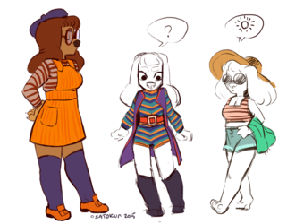 Sadie's outfits