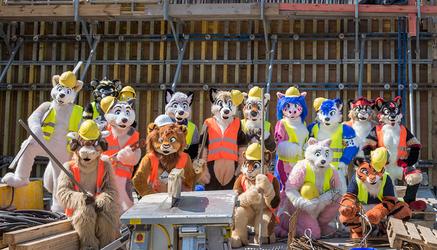 Fursuiting.com EuroFurence 22 Group Photo