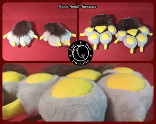 Knoxer Partial - Handpaws