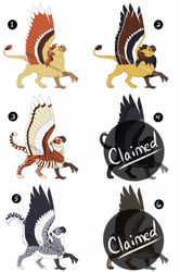 Gryphon Adoptables - Holiday Sale 40% Off!