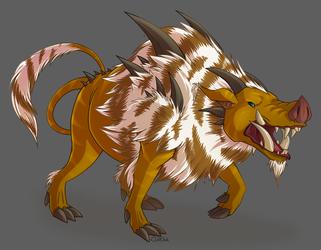 A Boar Monster