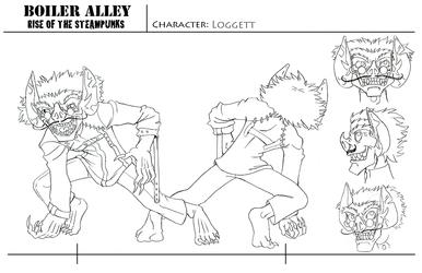 Character Sheet, - Loggett 2