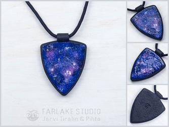 Cosmic arrow pendant