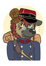 """Corporal"" in Uniform"