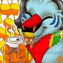 Canvas Pumpkn spice coffee icon