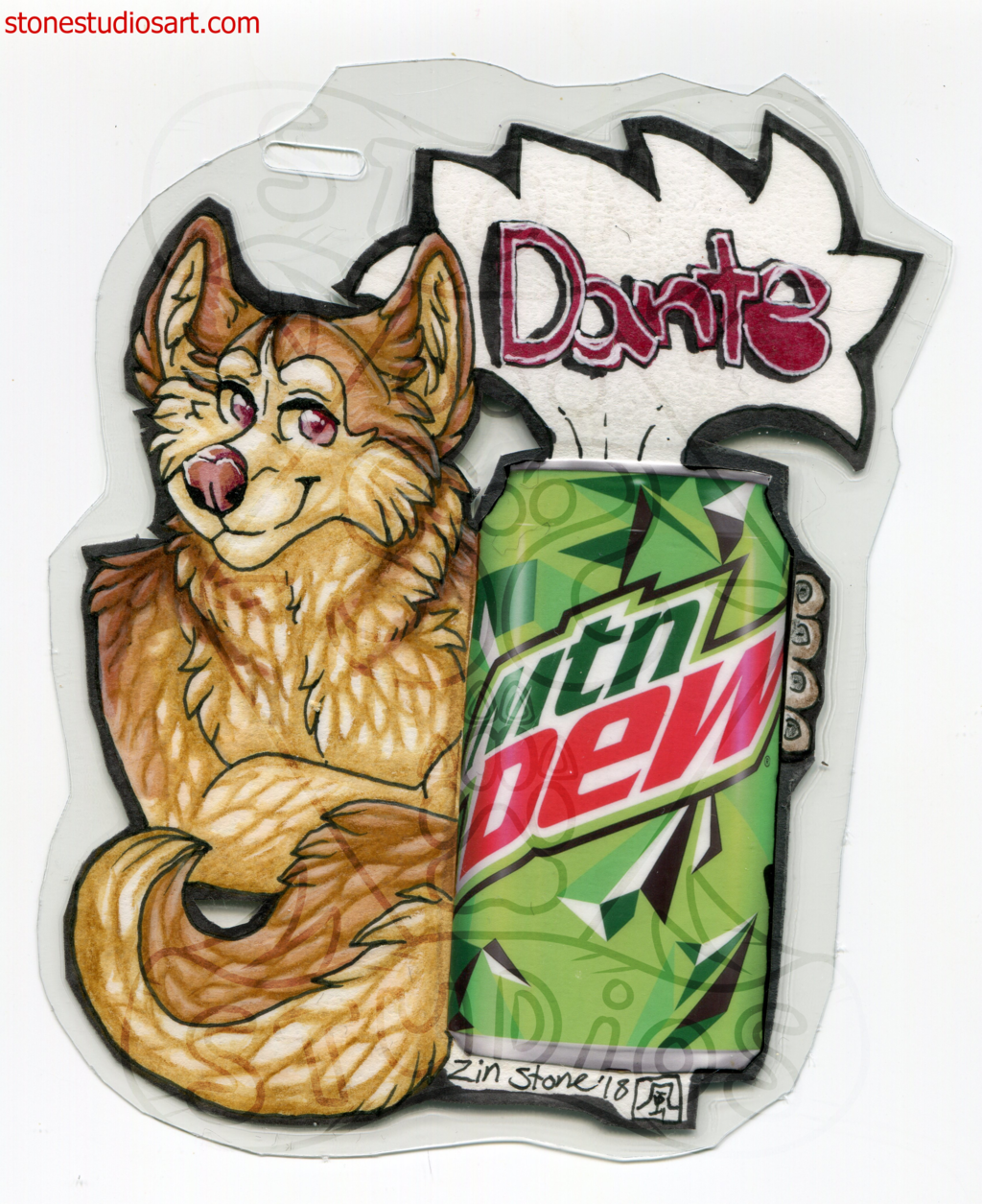 Dante Drink Badge - AC2018