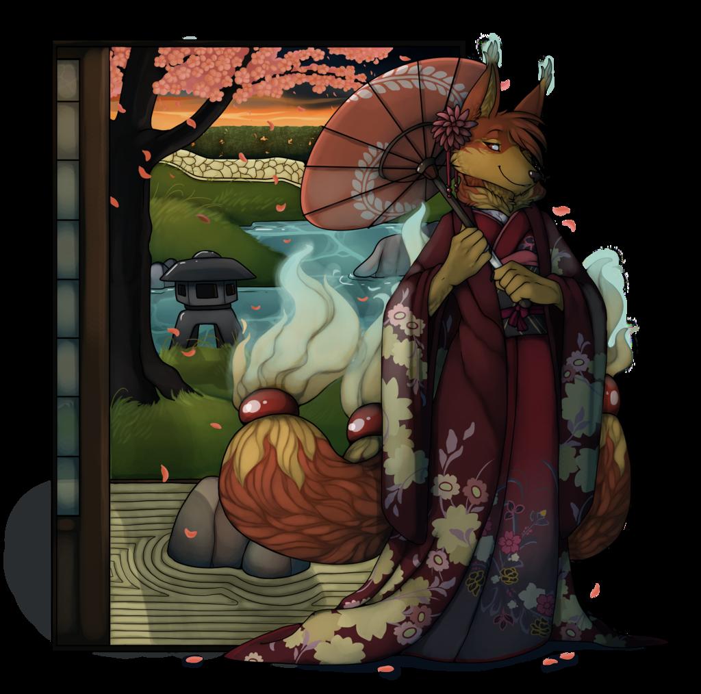 A Kitsune In A Kimono
