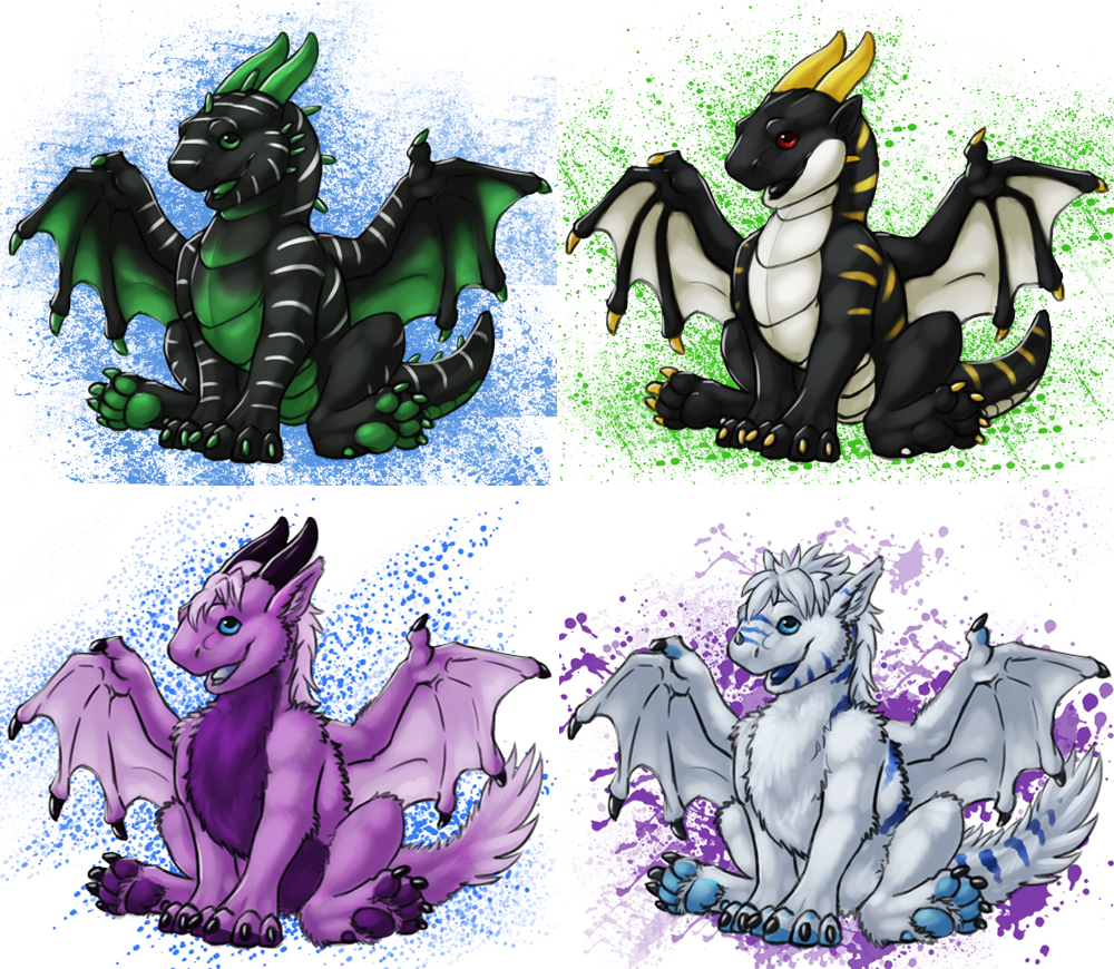 Young Draggy Templates!