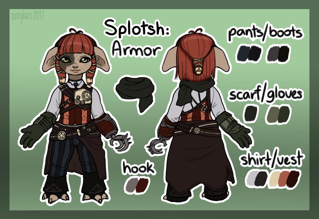 GW2 Splotsh Character Sheet Armor