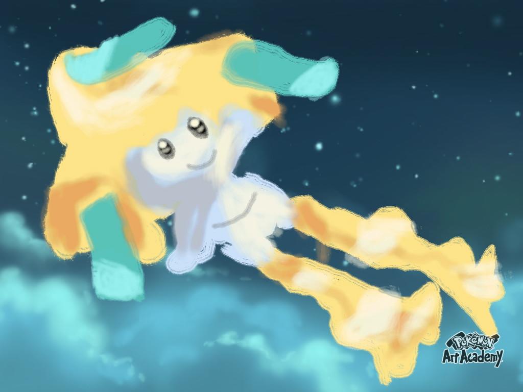 Pokemon Art Academy: Jirachi