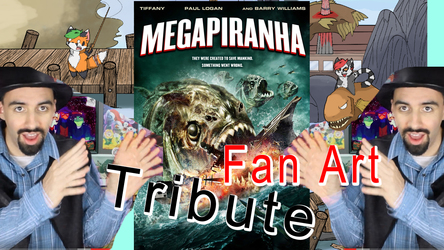 Mega Piranha CraftyArts VIDEO