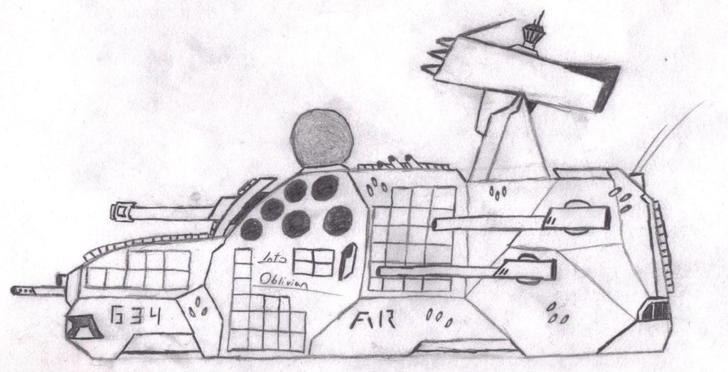 "MR Anti-Aircraft Vehicle/Hero AA Vehicle ""Asphyxiation III"" / ""Into Oblivion"""