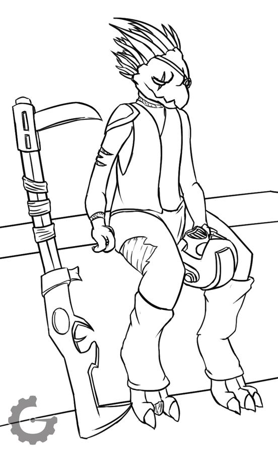 (Commission) Jelethorim's Kroot