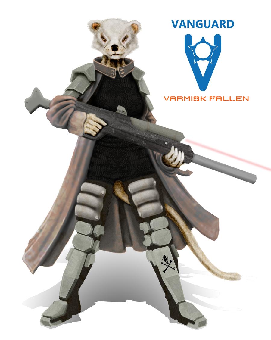 VANGUARD RPG - Angui, space pirate sniper