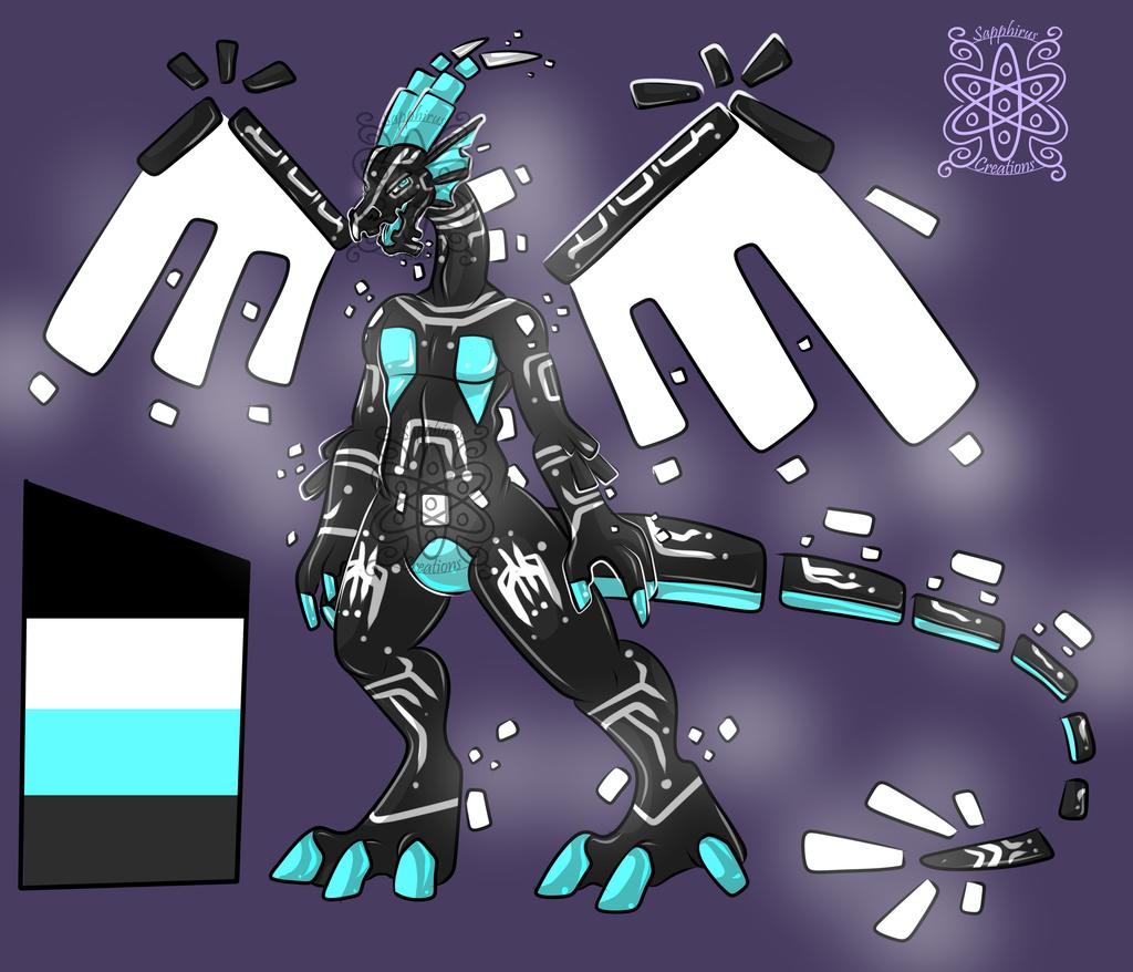 Male Cyber Virus Dragon +Design+ (SOLD)