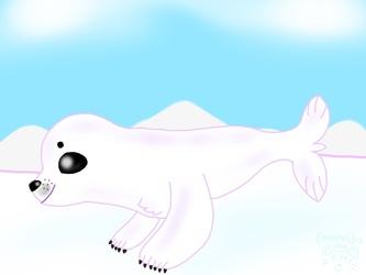 Artvent Calendar Day 15: Harp Seal