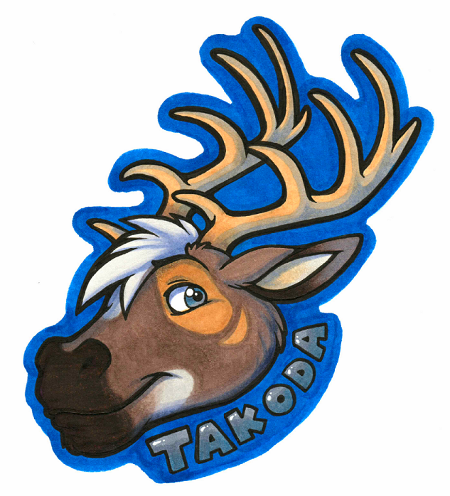 Takoda Badge (Commission)