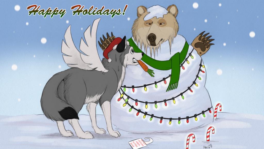 Happy Holidays (artpack)