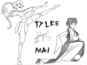 MISS NICKELODEON: Round 1-13: Ty Lee vs. Mai