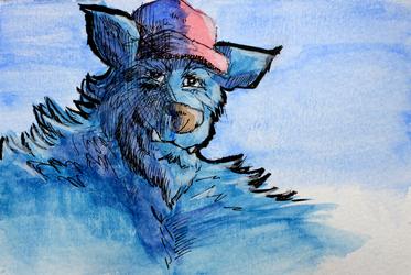 Trucker Blue