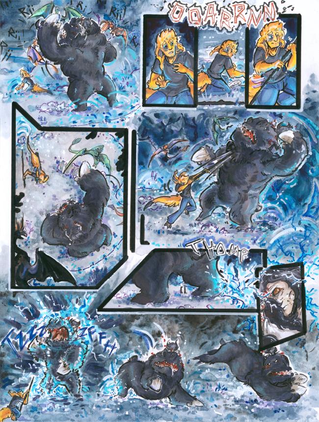 Most recent image: [inhuman] arc 15 pg 25