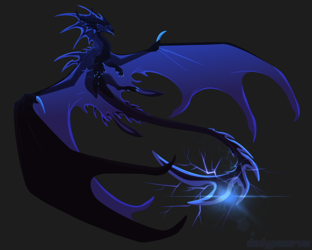[Character Auction] Blue ink storm [OPEN]