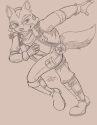 Fox McCloud - Warmup Sketch