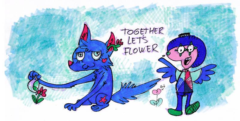 Together Let's Flower
