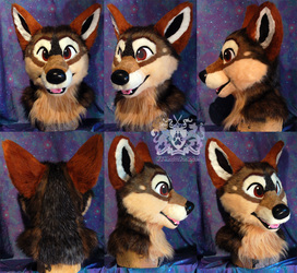 Denali Lobita Fursuit Head
