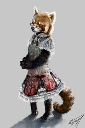 Just a Qi Lolita red panda.