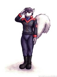 Proud Pilot [Mixed Medium - Commission]