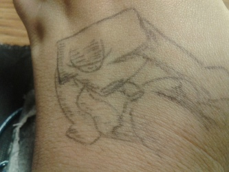 Conceptualized on skin