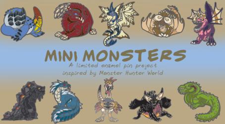 Mini Monster Digital Designs