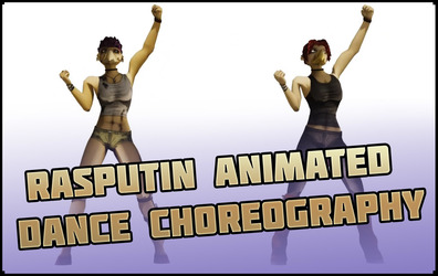 Animated Dance Choreography - Pennrose and Charlotte