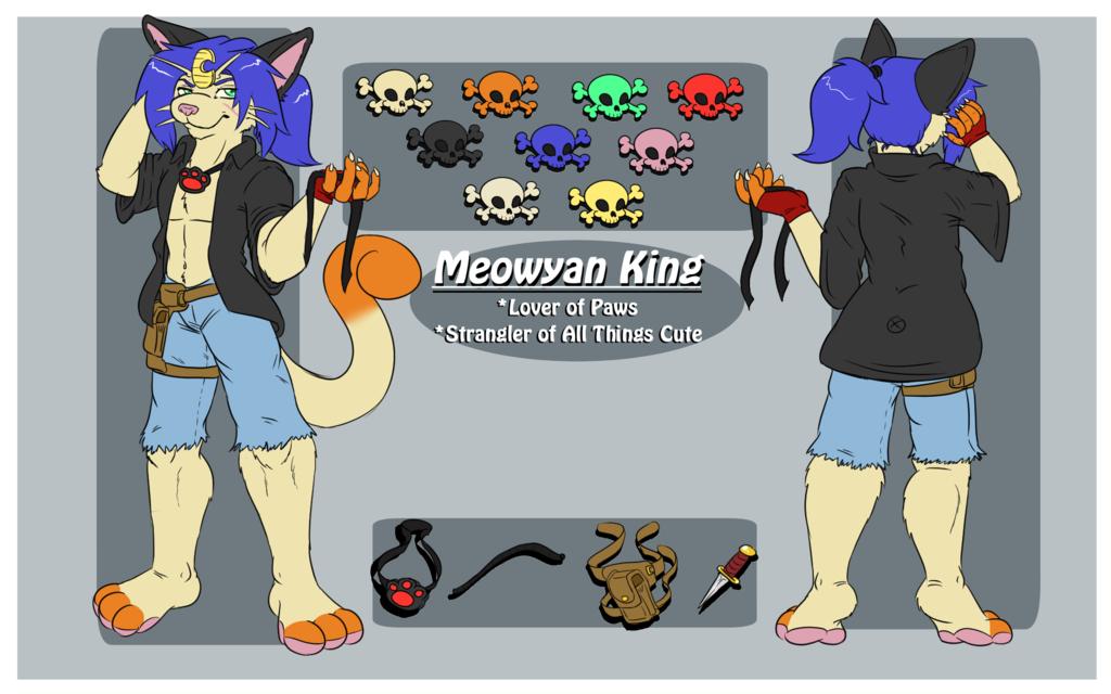 Most recent image: Meowyan (Fursona) Reference!