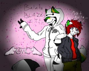 Baymax and Hiro Cosplay