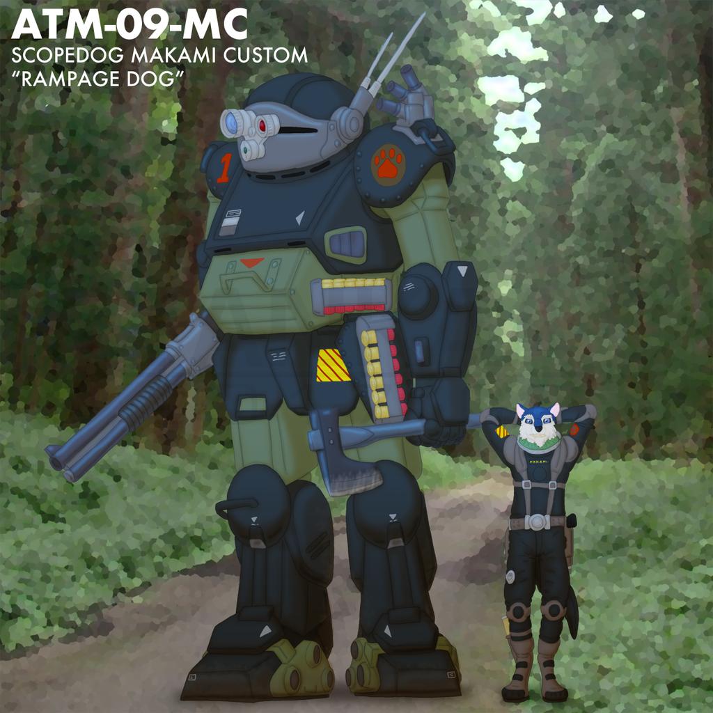 ATM-09-MC Rampage Dog