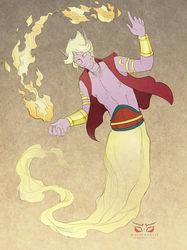 Commission: Ihsan, the Wish Granter