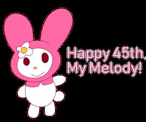 Happy 45th My Melody!