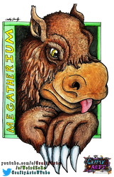 Megatherium Badge Commissions