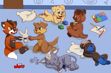 The babyfur room