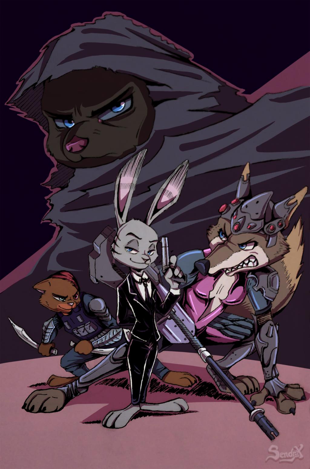 Agents of Rosco - By Sendraxmon