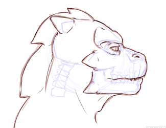 Sketch - Refining the character